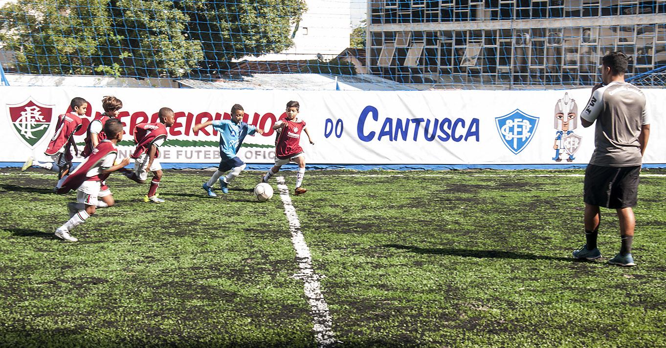 Canto do Rio assinatura de convênio com Fluminense