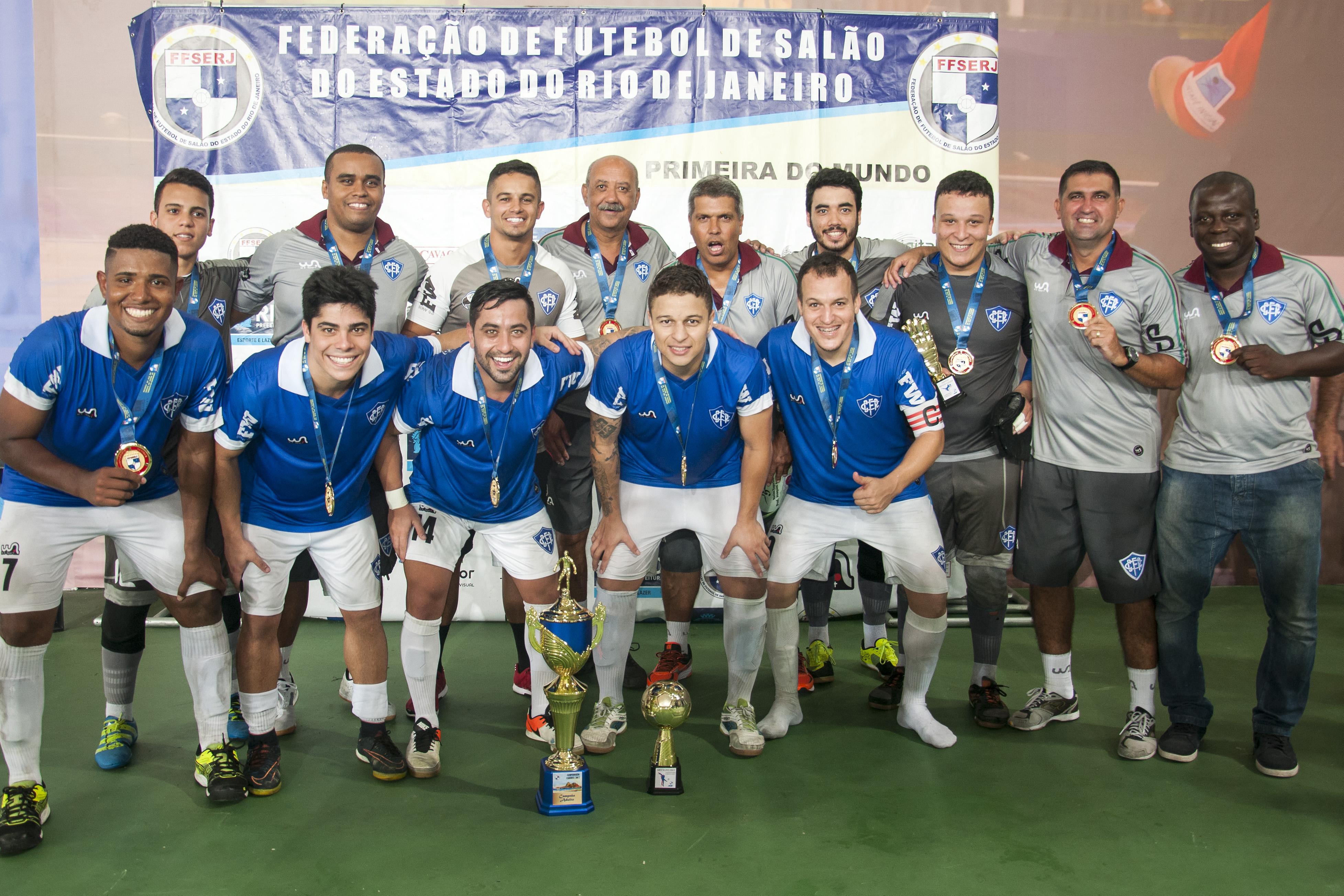 Canto do Rio campeão carioca futsal 2017