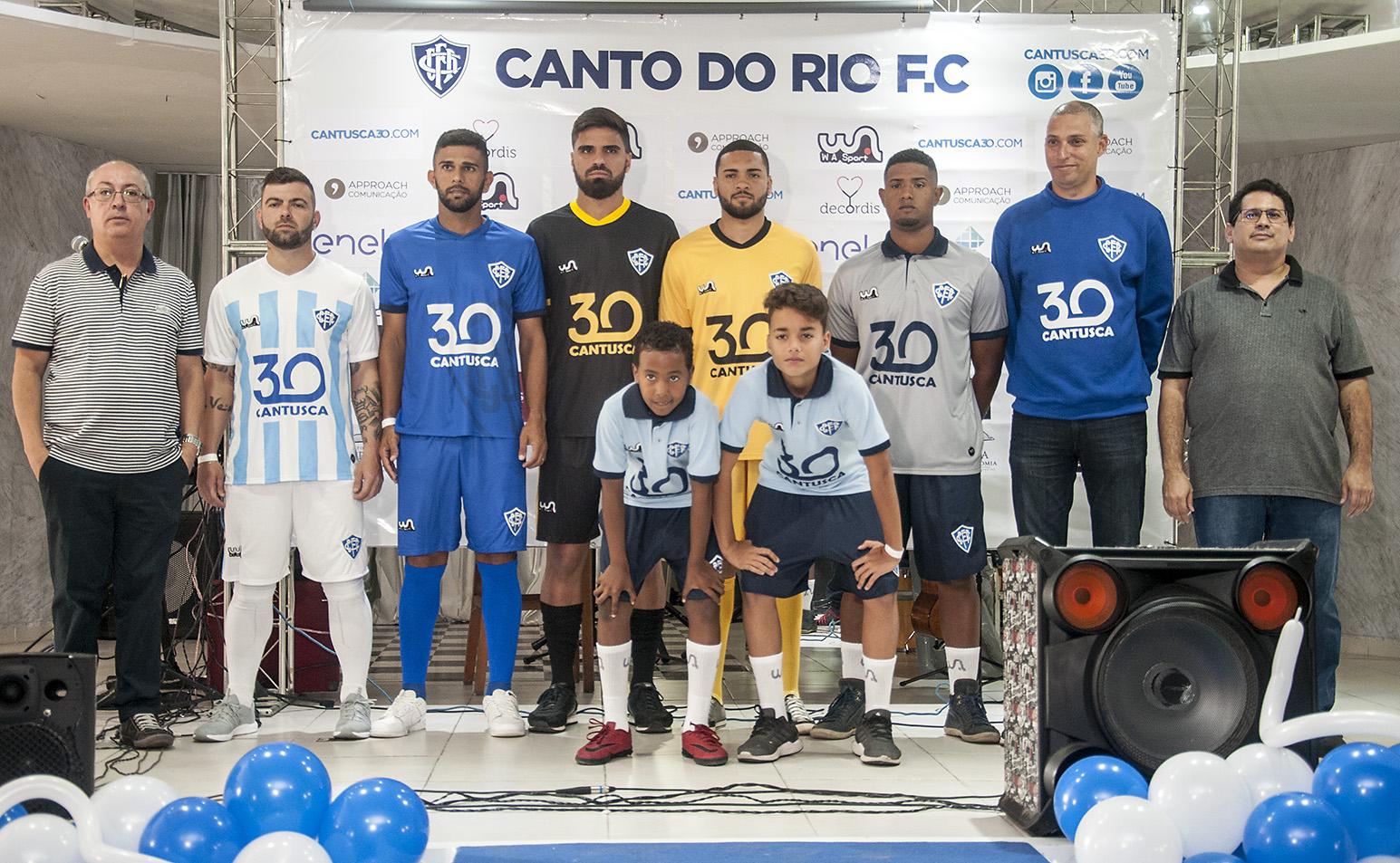 Canto do Rio - Lançamento novo uniforme e homenagem ao Gerson